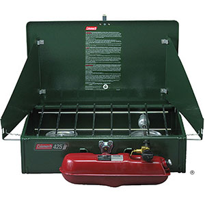 photo: Coleman Classic 2-Burner Stove liquid fuel stove