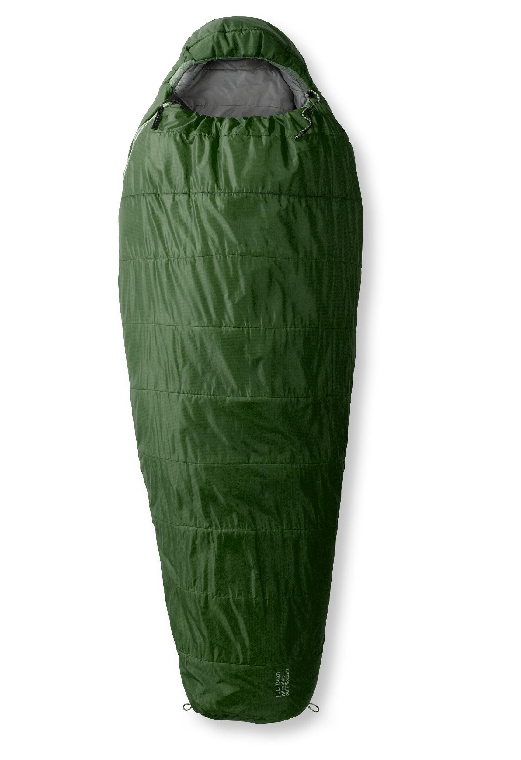 L.L.Bean Adventure Sleeping Bag Mummy 20F