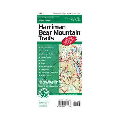 NY-NJ Trail Conference Harriman Bear Mountain Trails Map Set