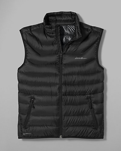 photo: Eddie Bauer Women's Downlight StormDown Vest down insulated vest