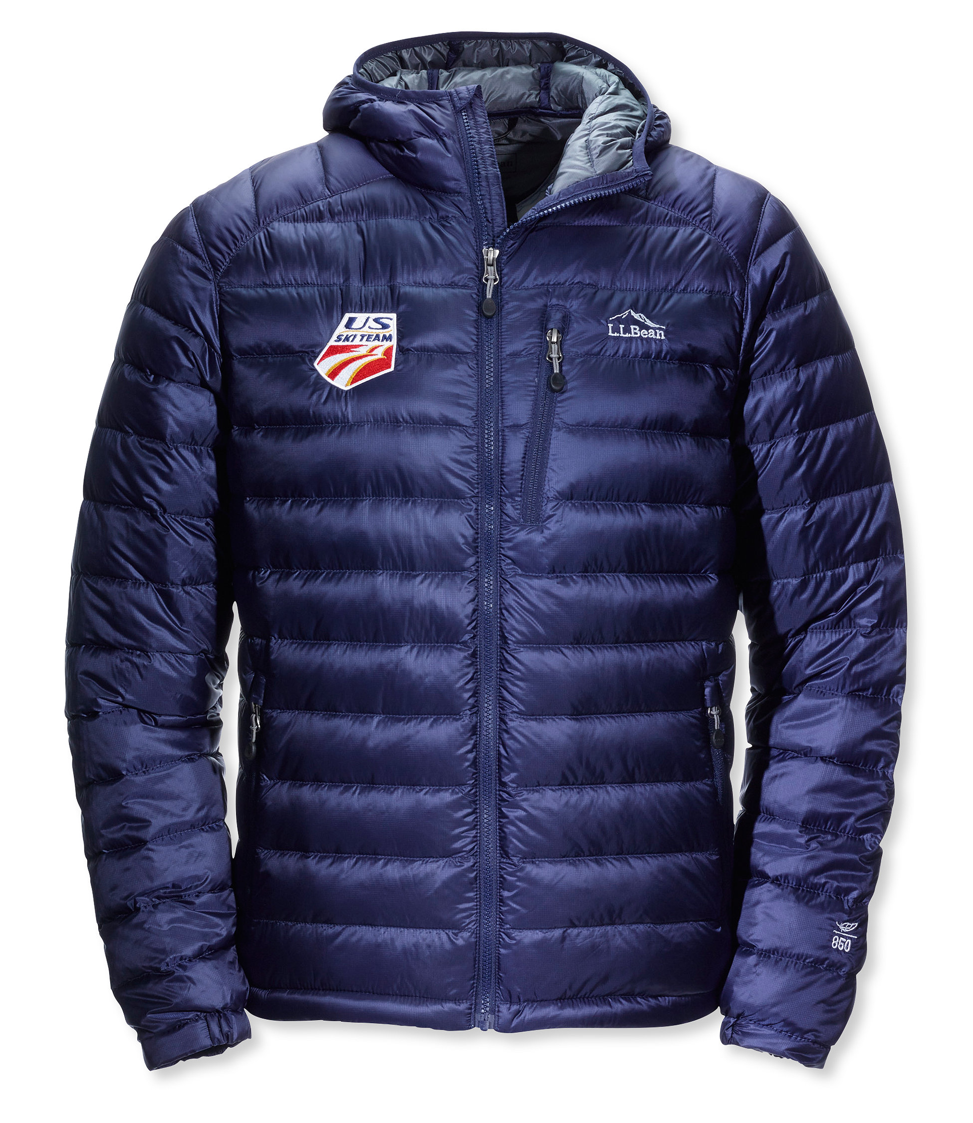 photo: L.L.Bean Ultralight 850 Down Hooded Jacket down insulated jacket
