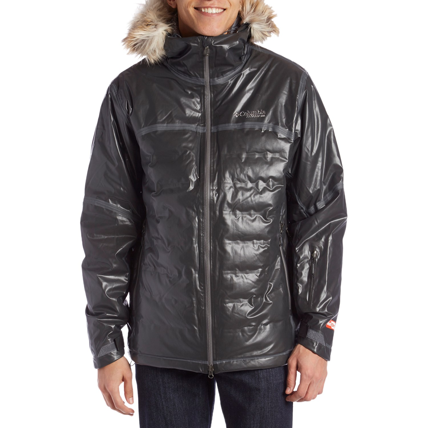 photo: Columbia Men's OutDry Ex Diamond Heatzone down insulated jacket