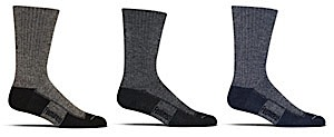 Feetures! Bamboo and Wool Medium Cushion Crew Sock