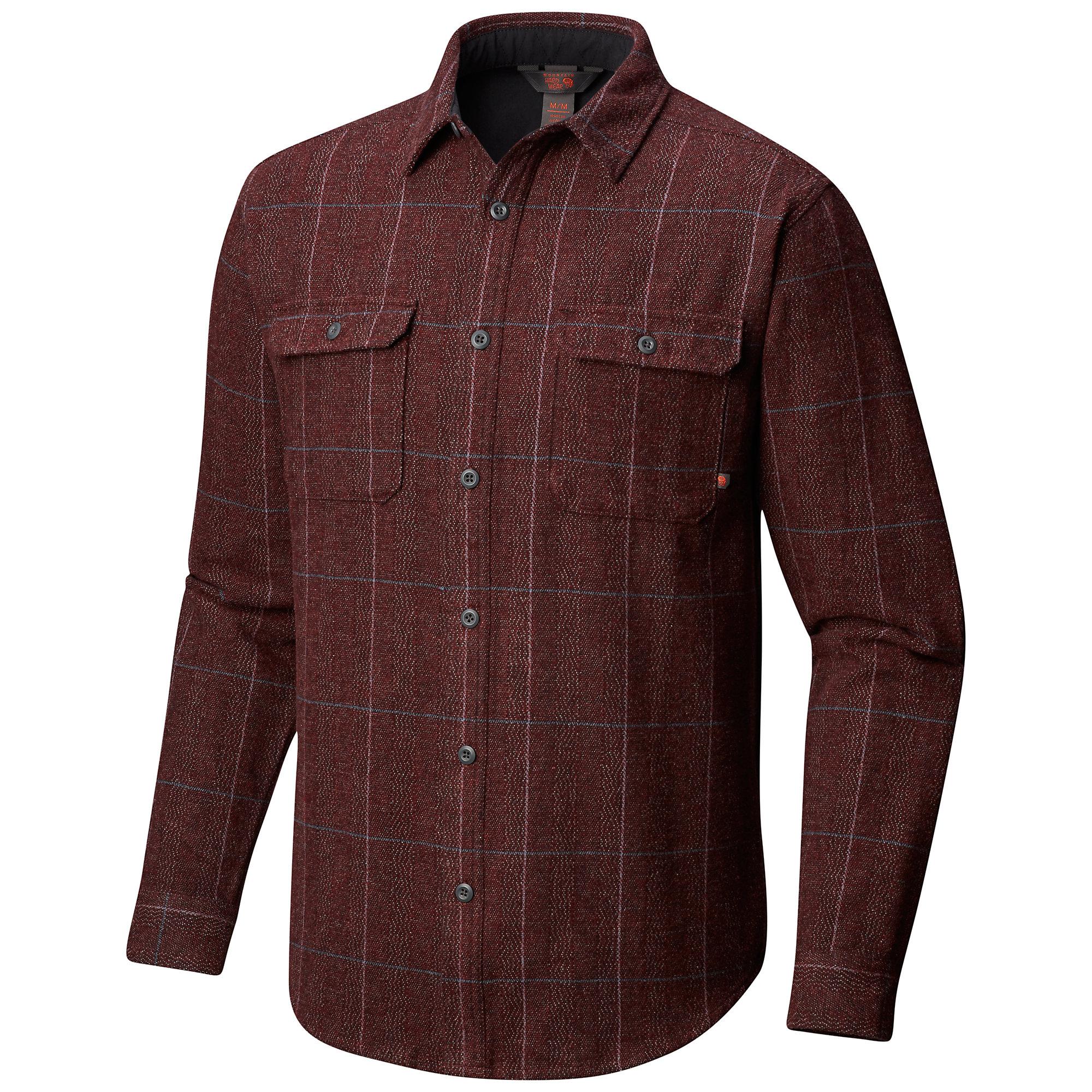 photo: Mountain Hardwear Walcott Long Sleeve Shirt fleece top