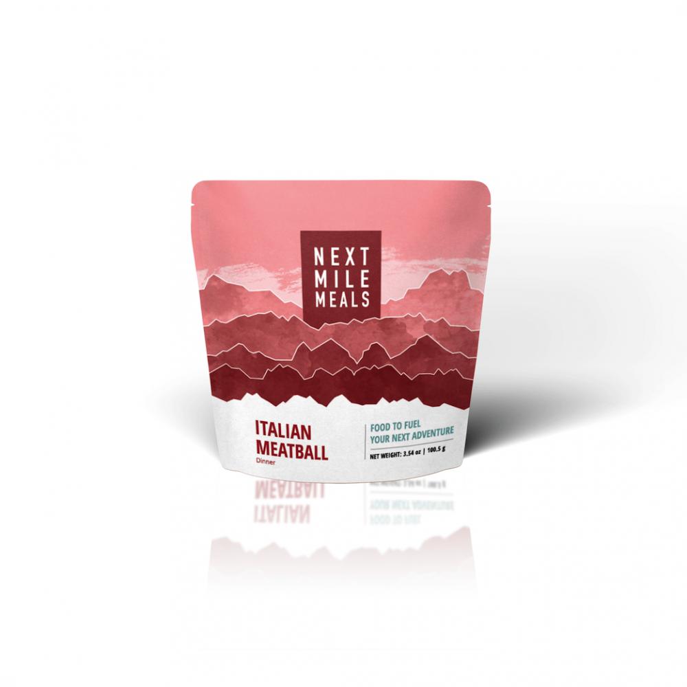 photo: Next Mile Meals Italian Meatball meat entrée