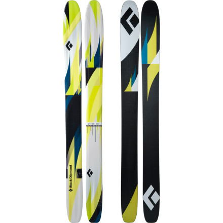 photo: Black Diamond Gigawatt alpine touring/telemark ski