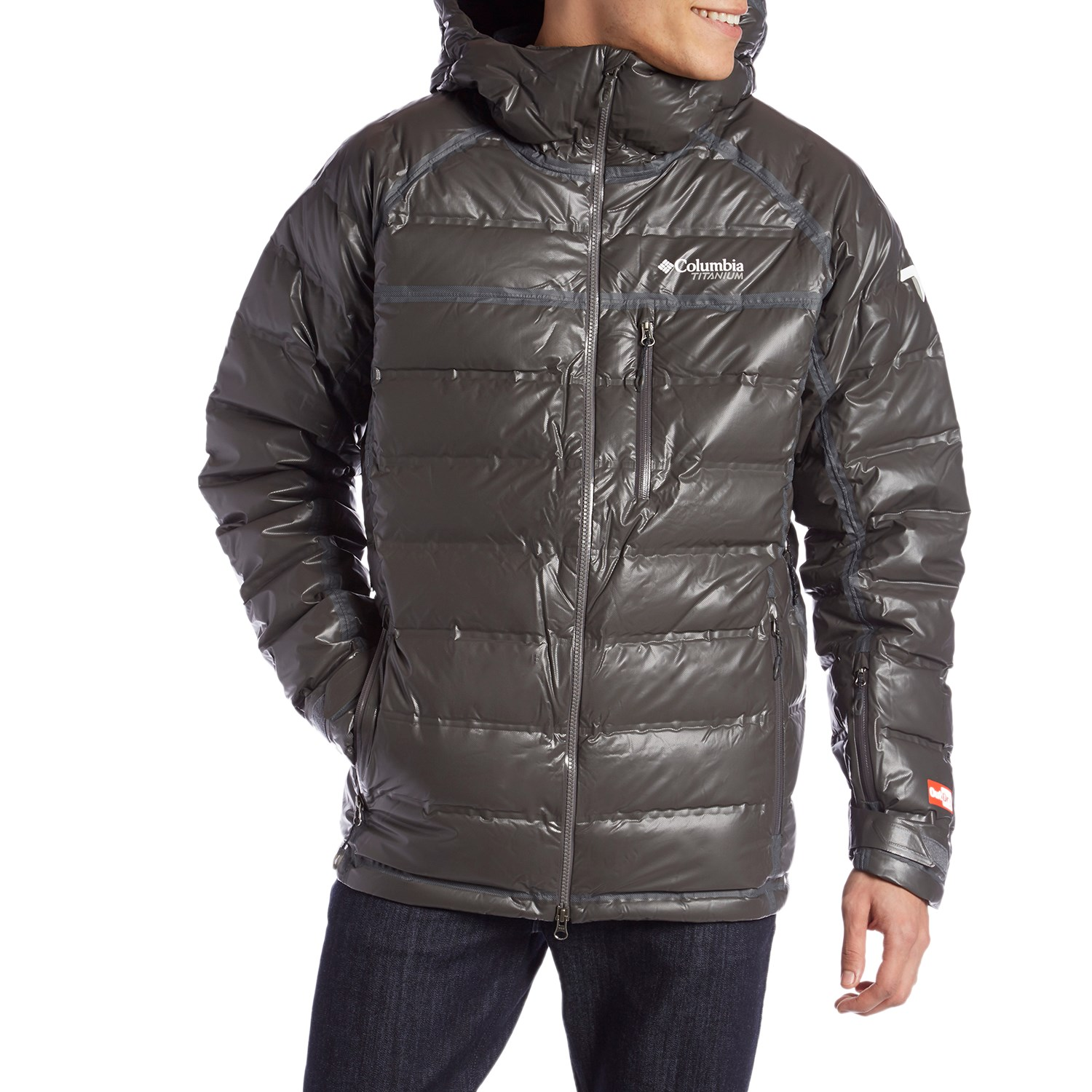photo: Columbia Men's OutDry Ex Diamond Down Insulated down insulated jacket