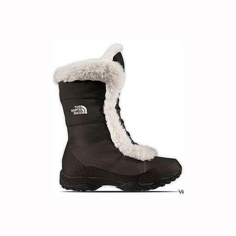 photo: The North Face Nuptse Fur III winter boot