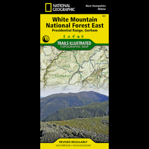 National Geographic Presidential Range/Gorham Map