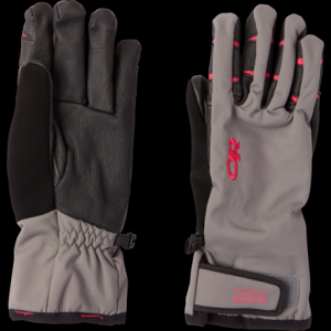 photo: Outdoor Research Women's Stormsensor Gloves soft shell glove/mitten