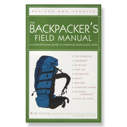 photo of a Three Rivers Press camping/hiking/backpacking book
