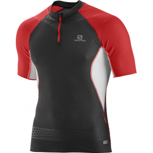 photo: Salomon S-Lab Exo Zip Tee short sleeve performance top