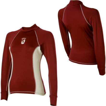 photo: Kokatat Women's Innercore Long Sleeve Top long sleeve paddling shirt