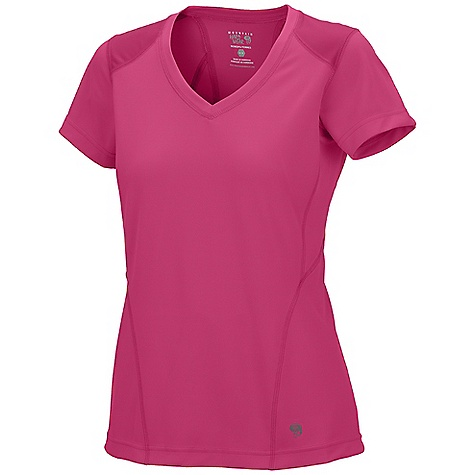 photo: Mountain Hardwear Ediza Short Sleeve T hiking shirt