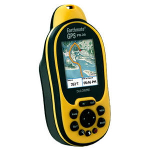 photo: DeLorme Earthmate GPS PN-20 handheld gps receiver