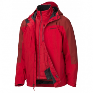 photo: Marmot Gorge Component Jacket component (3-in-1) jacket
