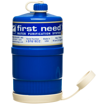 photo: First Need XLE Elite Canister pump/gravity water filter