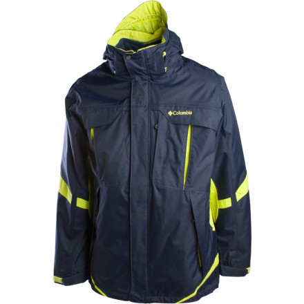 photo: Columbia Men's Bugaboo Parka component (3-in-1) jacket
