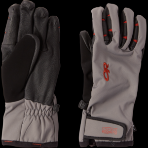 photo: Outdoor Research Stormsensor Gloves soft shell glove/mitten