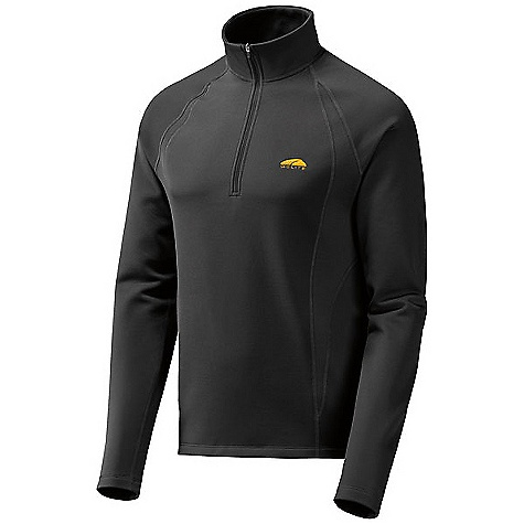 photo: GoLite Men's Vermillion Thermal 1/3-Zip Top fleece top