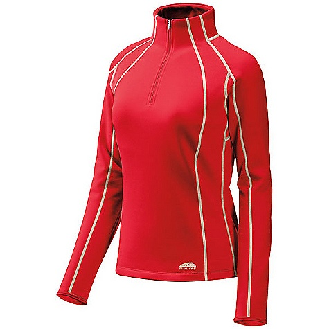 GoLite Vermillion Thermal 1/3-Zip Top