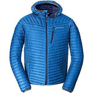 Eddie Bauer First Ascent MicroTherm Down Hooded Jacket