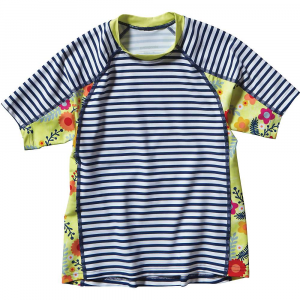 photo: Patagonia Girls' Short-Sleeved Rashguard short sleeve rashguard