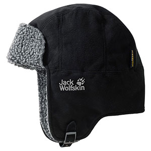 photo: Jack Wolfskin Stormlock Shapka winter hat