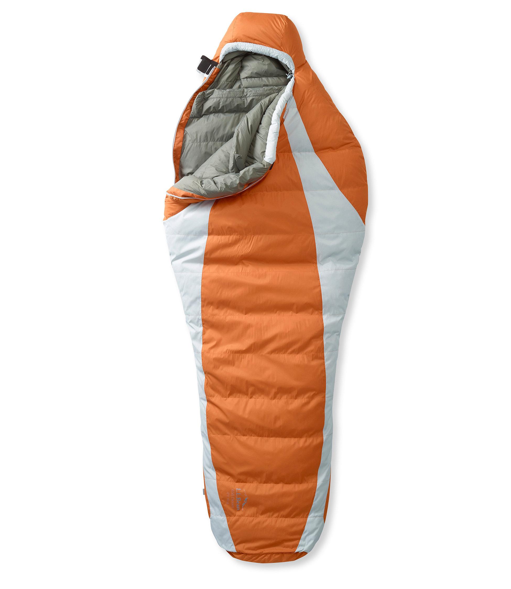 photo: L.L.Bean Down Sleeping Bag with DownTek, Mummy 0° 3-season down sleeping bag