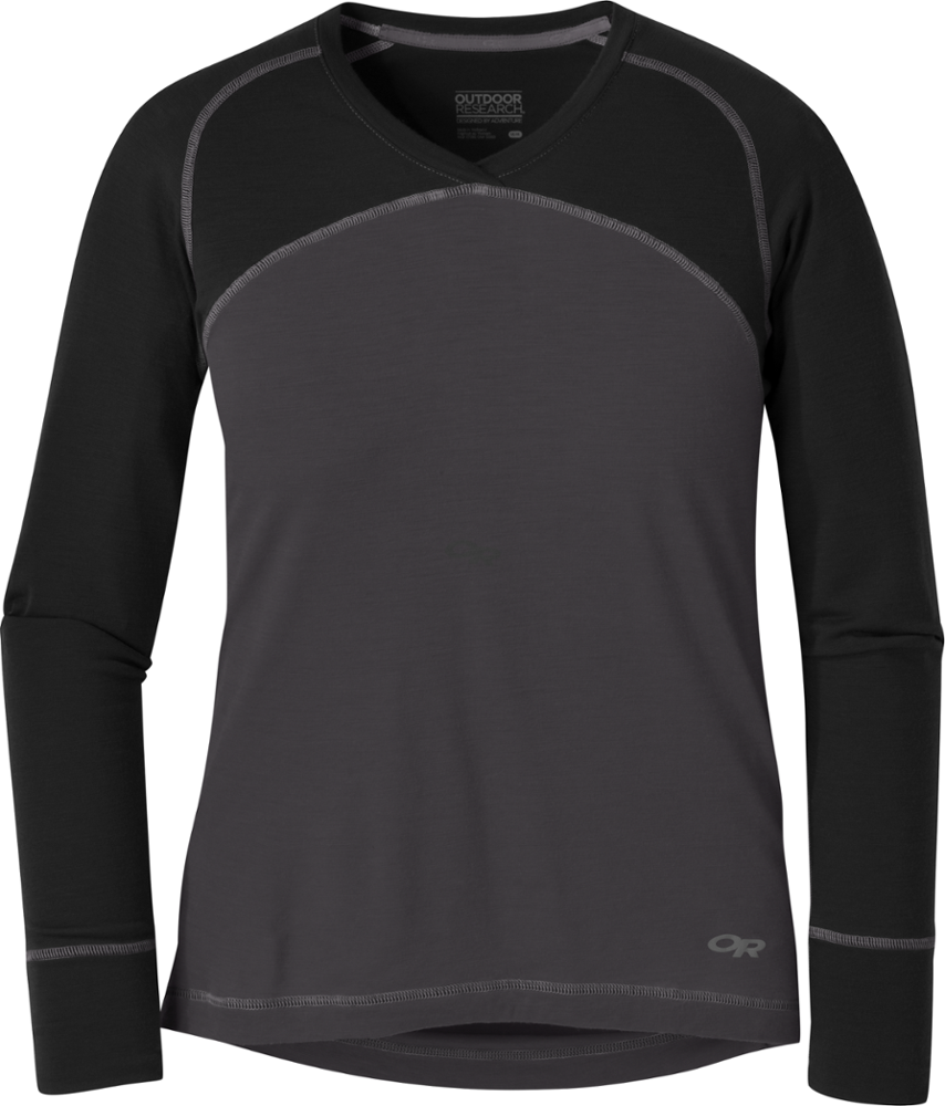 photo: Outdoor Research Alpine Onset V-Neck base layer top