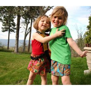 photo: Outside Baby Skort running skirt