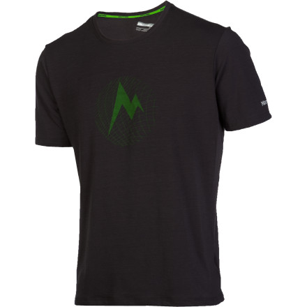 photo: Marmot Mdot Grid Tee SS short sleeve performance top