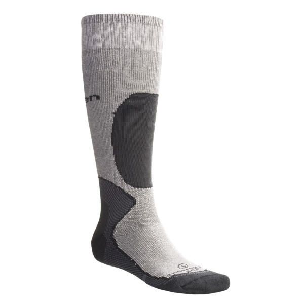 Lorpen Italian Merino Wool Ski Socks Over-the-Calf
