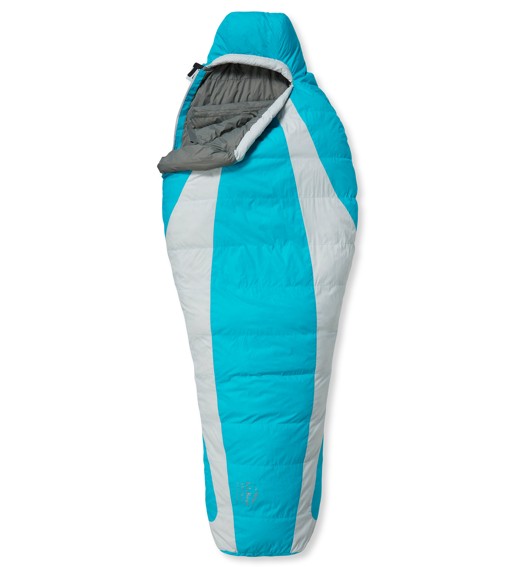 L.L.Bean Down Sleeping Bag with DownTek, Mummy 0°