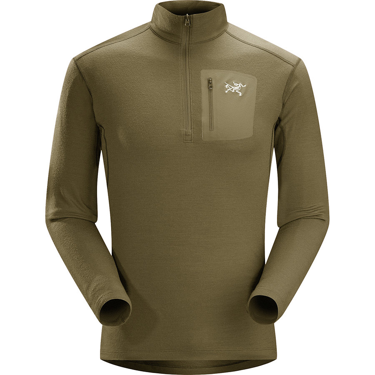 photo: Arc'teryx Men's Rho LTW Zip base layer top