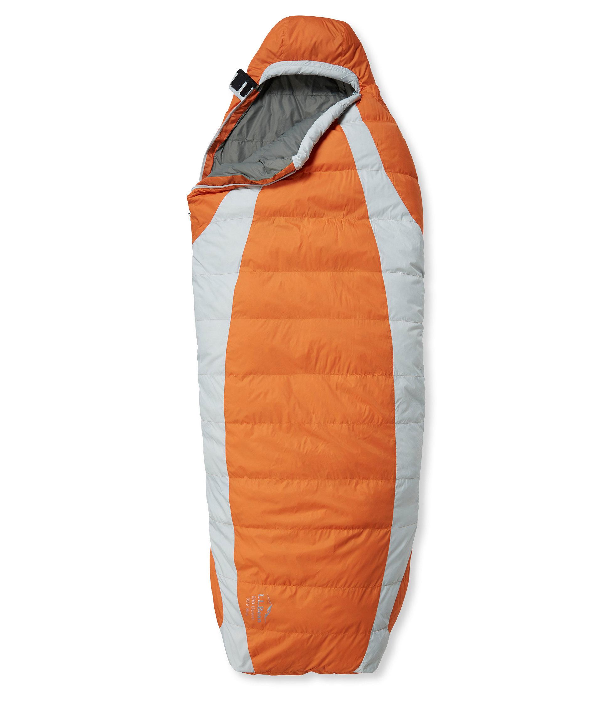 photo: L.L.Bean Down Sleeping Bag with DownTek, Semi-Rectangular 35° warm weather down sleeping bag