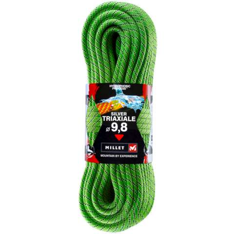 photo: Millet Silver Triaxiale Single Rope dynamic rope