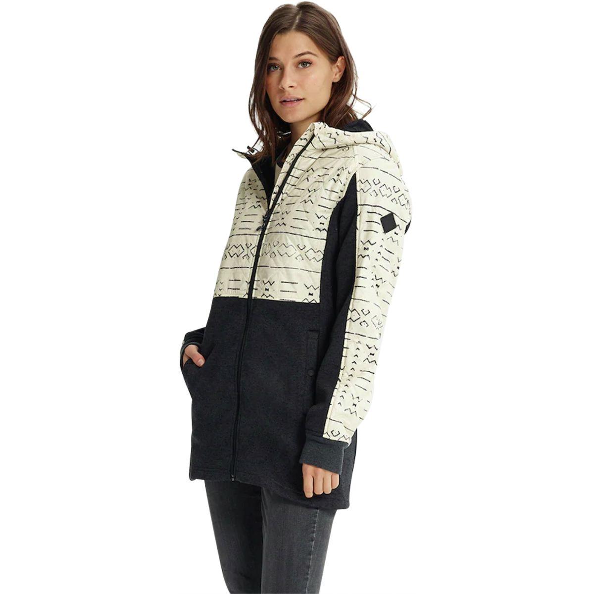 photo: Burton Embry Full-Zip Hoodie fleece jacket
