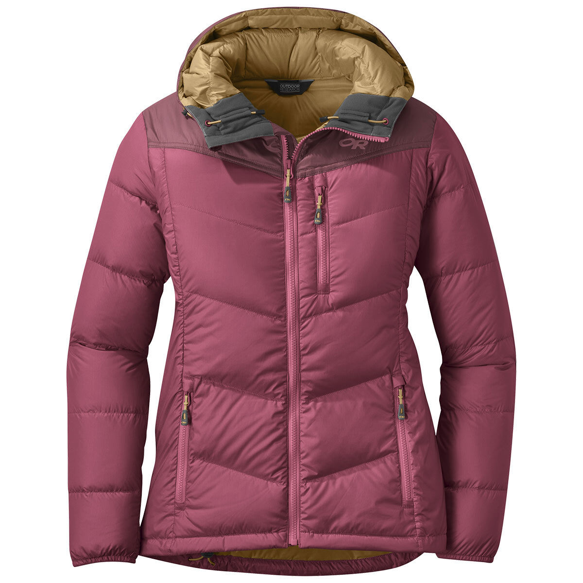 photo: Outdoor Research Women's Transcendent Down Hoody down insulated jacket