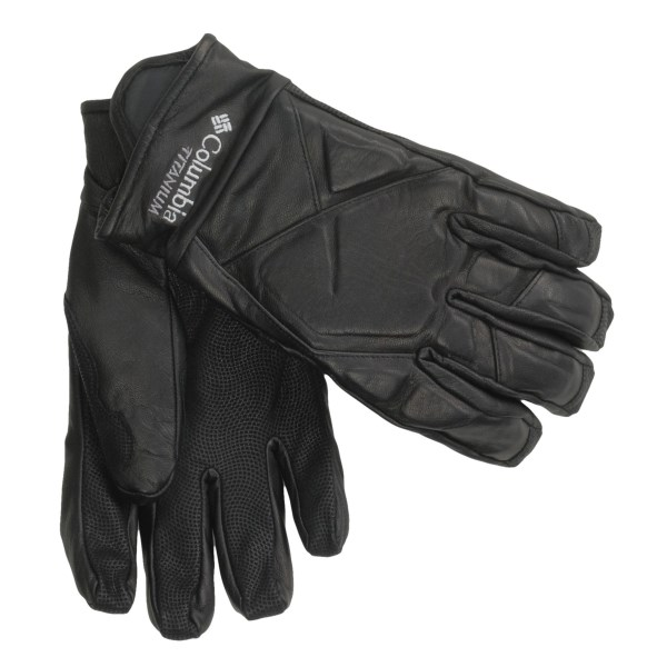 photo: Columbia Storm Trooper Leather Glove insulated glove/mitten