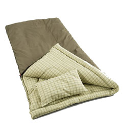 photo: Coleman Big Game -5 cold weather synthetic sleeping bag