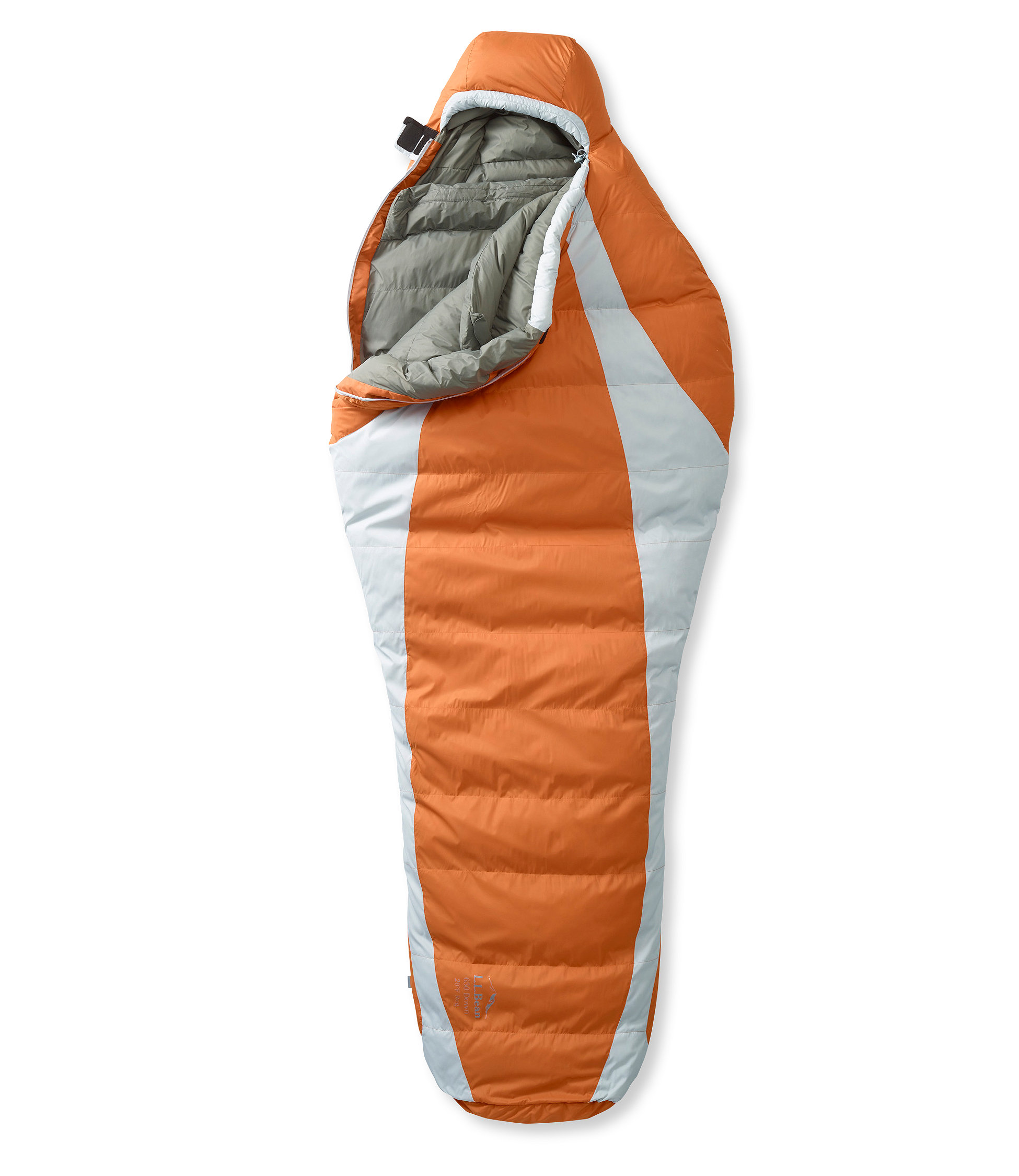 photo: L.L.Bean Down Sleeping Bag with DownTek, Mummy 20° 3-season down sleeping bag
