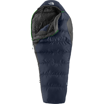 photo: The North Face Aleutian 3S 20F Down 3-season down sleeping bag