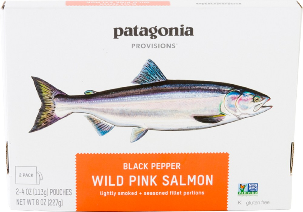 photo: Patagonia Provisions Wild Pink Salmon snack/side dish