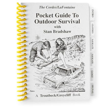 photo:   Pocket Guide to Outdoor Survival first aid/safety/survival book