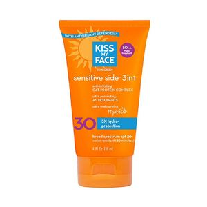 Kiss My Face Sun Screen SPF 30 with Oat Protein Complex