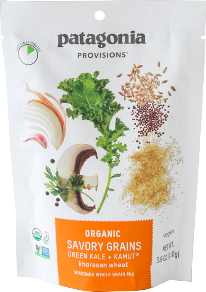 Patagonia Provisions Organic Savory Grains Green Kale + KAMUT