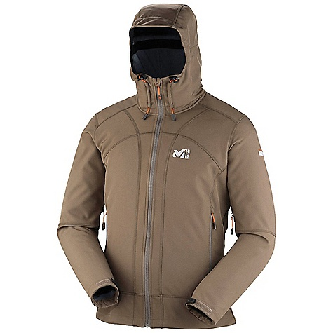 photo: Millet Track Hoodie soft shell jacket
