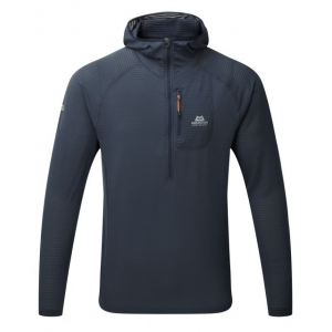 photo: Mountain Equipment Men's Solar Eclipse Hooded Zip-T fleece top
