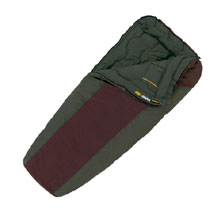 photo: Eureka! Dual Temp 10/30 3-season synthetic sleeping bag